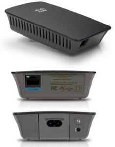 Bộ kích sóng (mở rộng) WiFi Cisco RE1000 của Linksys – Repeater