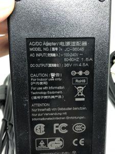 BỘ NGUỒN SẠC 36V 4.5A