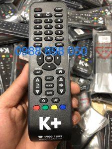 Điều khiển đầu thu k+ zin theo đầu chính hãng
