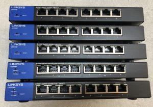Bộ Switch PoE Linksys LGS308P 8-Port Business Smart Gigabit