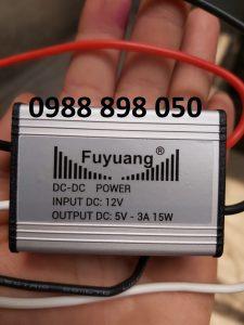 Bộ hạ áp điện dc 12v xuống dc 5v 3a