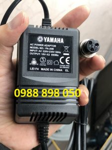 adaptor nguồn mixer yamaha ac 18v ~ x2 800ma 3 pin chính hãng