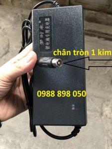 sạc xe điện 42v cho xe dùng pin 36v chân tròn 1 kim