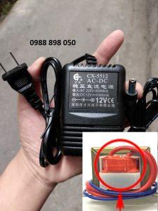 adaptor nguồn biến áp 1 chiều DC 12v 1000ma (12vdc1a)