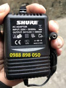adaptor shure 13.5v 600ma