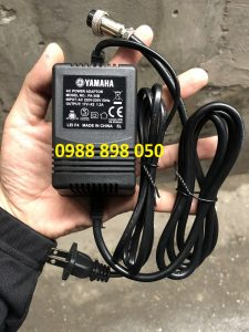 Adaptor Nguồn Ac 17v ~ x2 1.2a Ac 3 Pin 220v Cho Yamaha M16 / Mg166Cx / Mg166C / F4 / F7 / 6fx